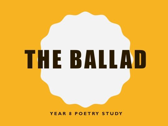 Ballads Resource Bundle