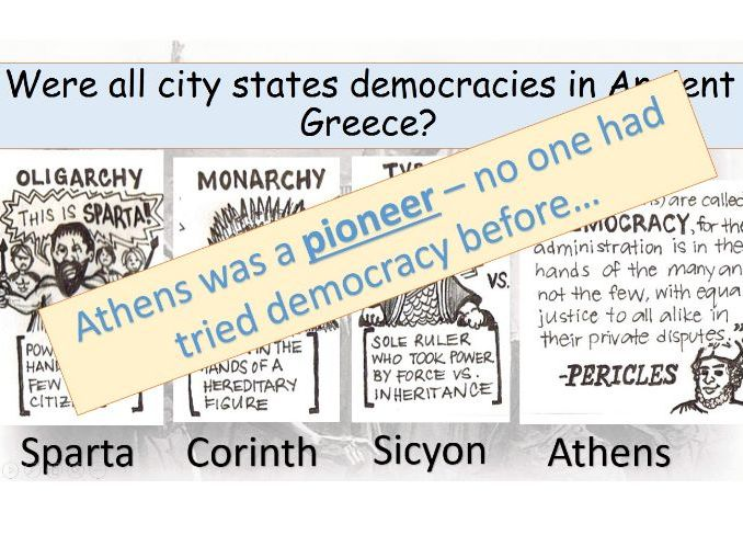 What was so special about Athenian politics?: Democracy