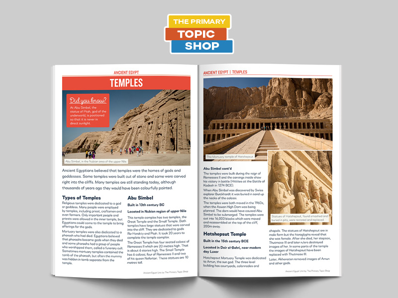 Ancient Egypt - Temples