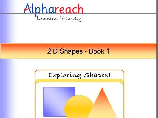 2D Shapes - Explore round shapes