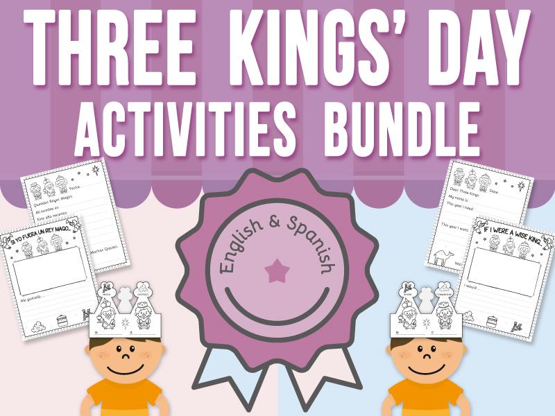 Three Kings' Day Activities BUNDLE
