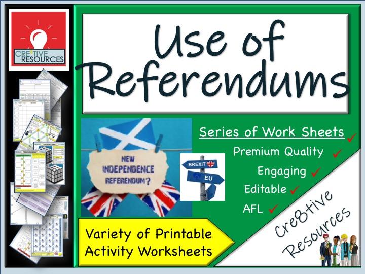 Referendums Politics