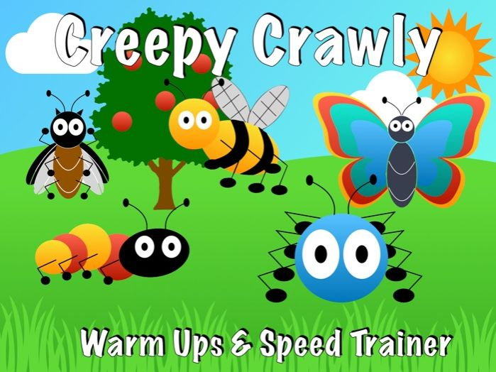 Creepy Crawly Warmups