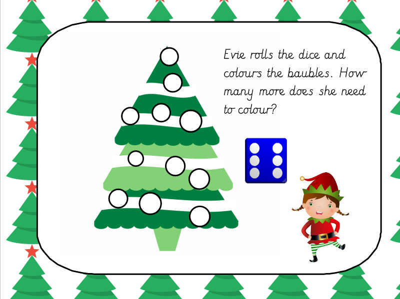 Christmas Tree Adding Game By Missjg133 Teaching Resources