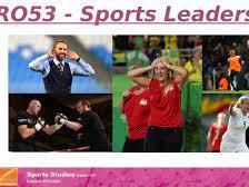 OCR R053 Sports Leadership Sports Studies