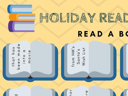 Holiday Book Bingo