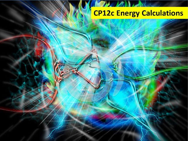 CP12c Energy Calculations