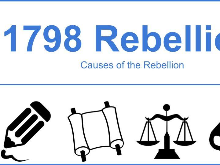 Complete Set of Resources for 1798 Rebellion