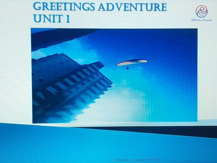Greetings Adventure French PPT KS2