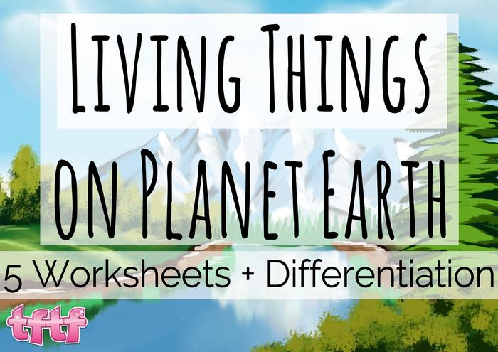 Classifying Living Things Worksheets 5th Grade - living and non things ...