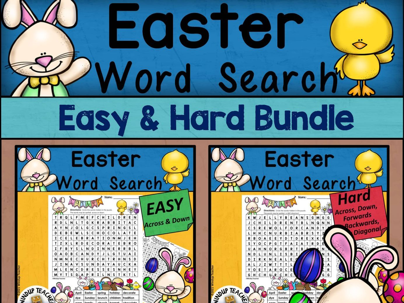 Easter Word Search BUNDLE