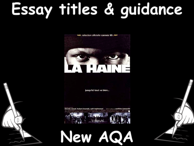 techniques cinematographiques dans la haine kassovitz  la haine essay titles sample and techniques for the new aqa as level 2016