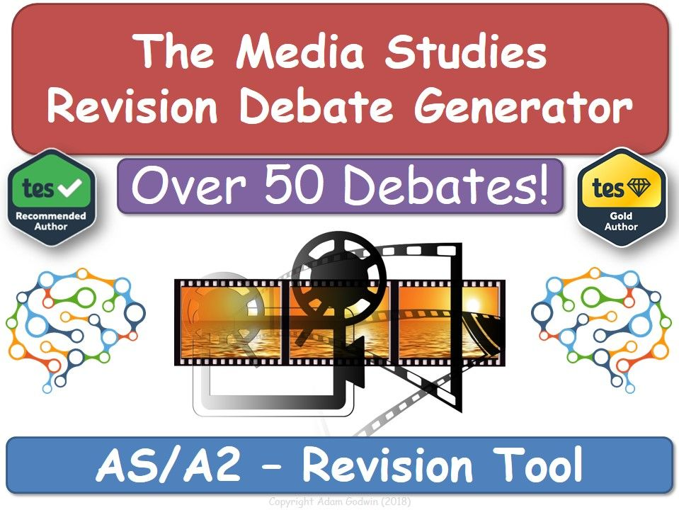 AS/A2 Media Studies Revision Debate Generator! [KS5 Media Studies, Revision Tool]