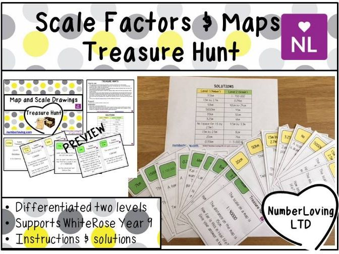 Using Scales (Treasure Hunt)