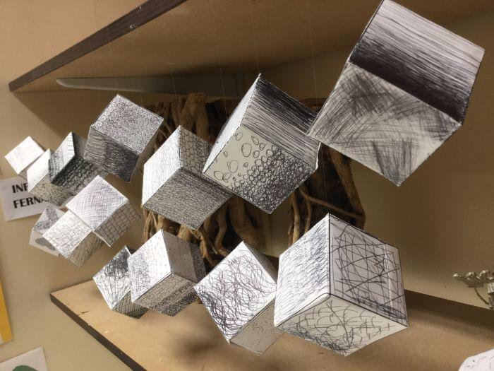 Mark Making Cubes