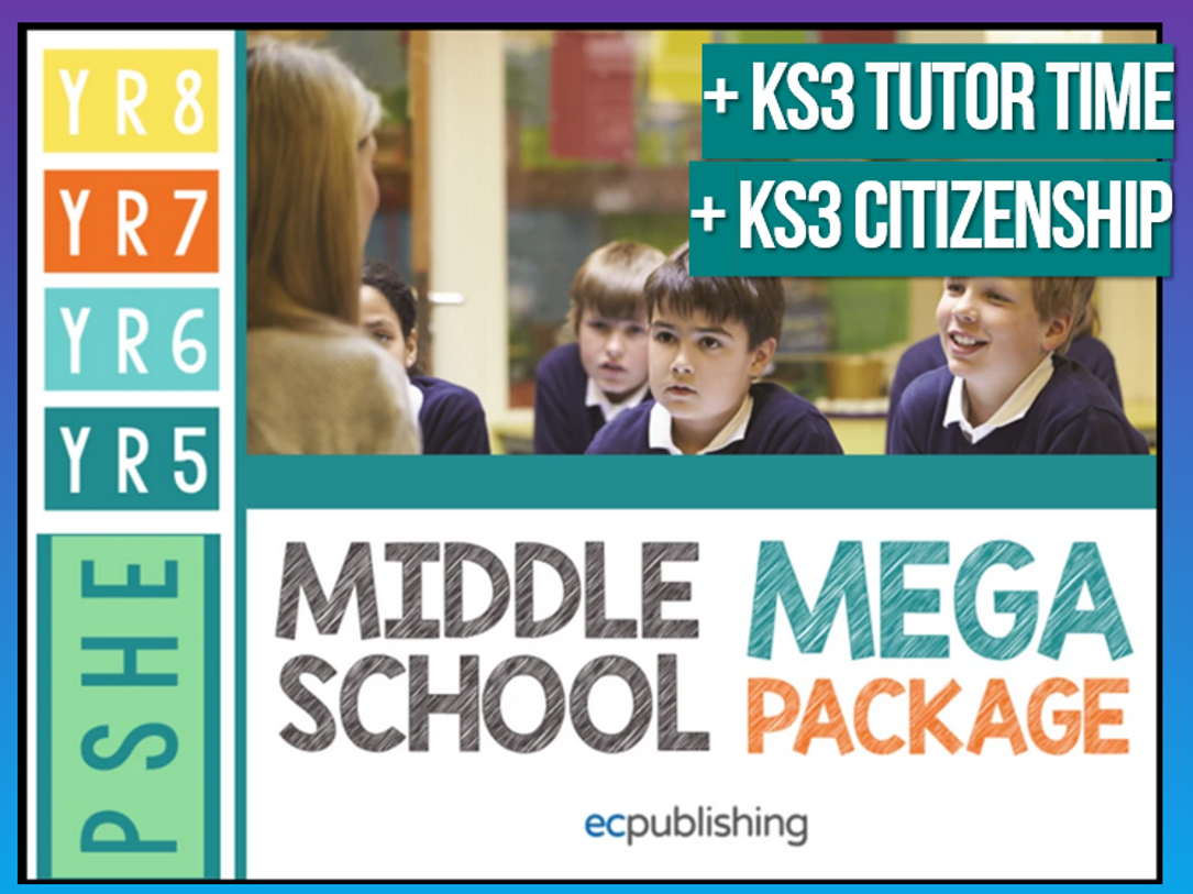 Complete Middle School PSHE with Tutor Time + Citizenship