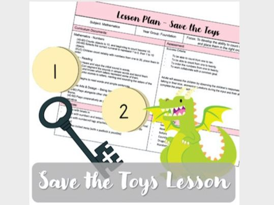 Save the Toys from the Dragon (Lesson Plan & Resources)
