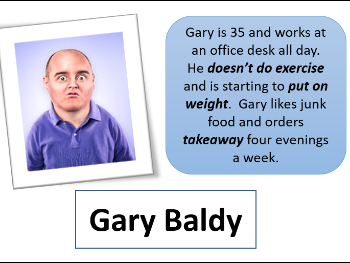 Designer Diet with Gary Baldy & friends