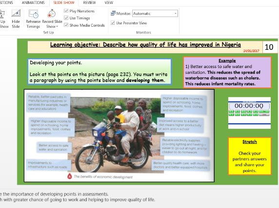 L7 - Nigeria quality of life (Unit 2, Section B, pt 2/3, NEE Case study) - [AQA GEOG new spec]
