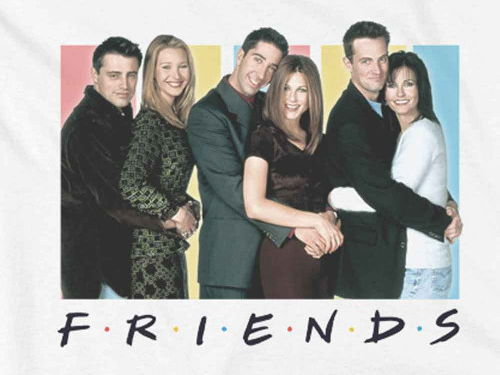 "ESL worksheets based on ""Friends"" (season 1, episodes 16-20)"