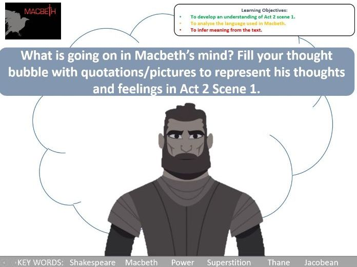 Macbeth Act 2 Scene 1 lesson