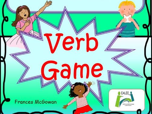 Verb - I have... Who has....? game