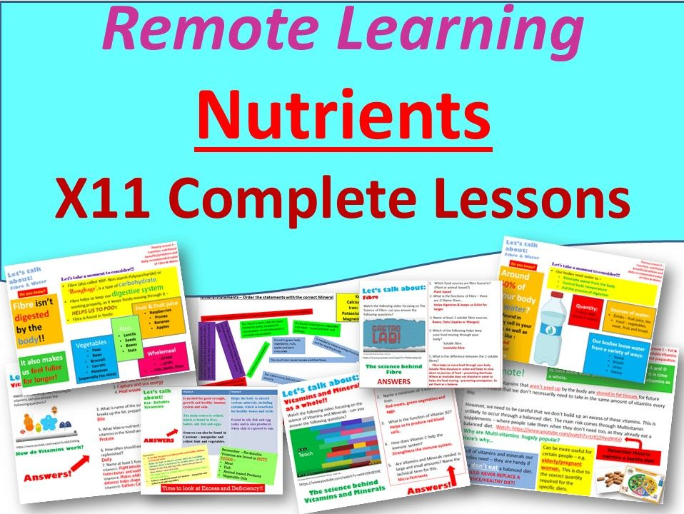 Food Remote Learning
