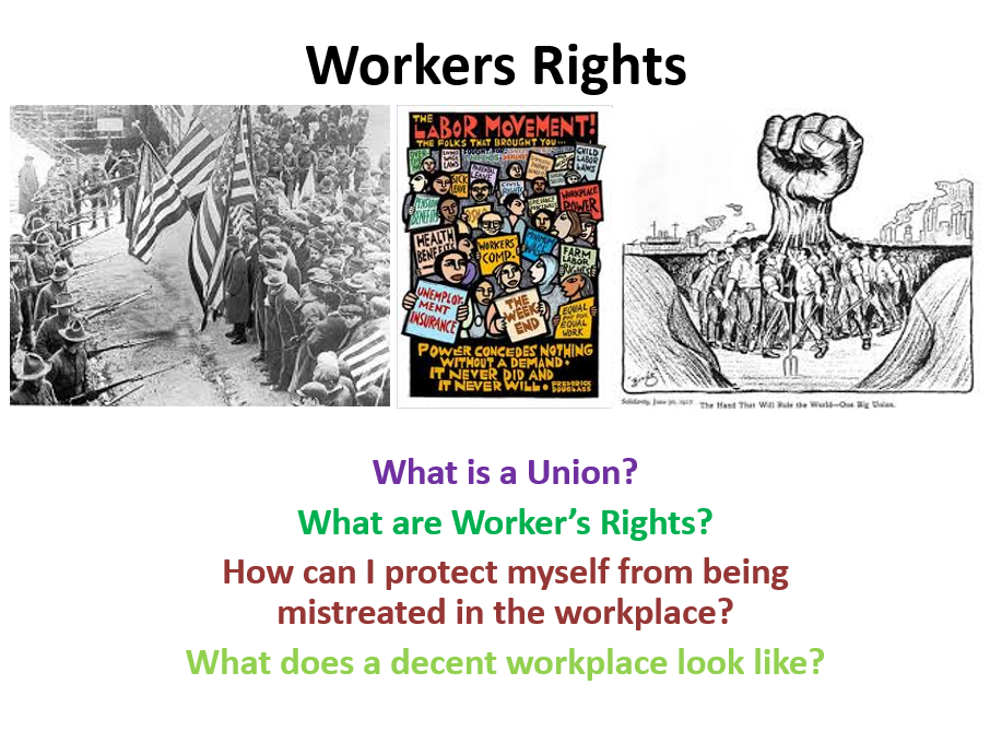 Worker's Rights and Unions