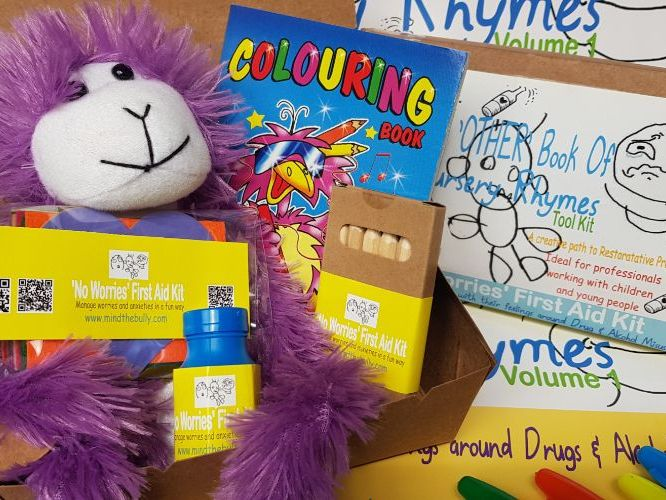 'No Worries' First Aid Kit - Drugs & Alcohol Misuse