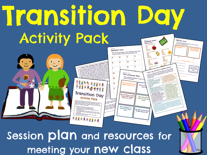 Transition Day Activities