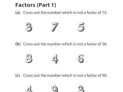 Factors (Part 1)