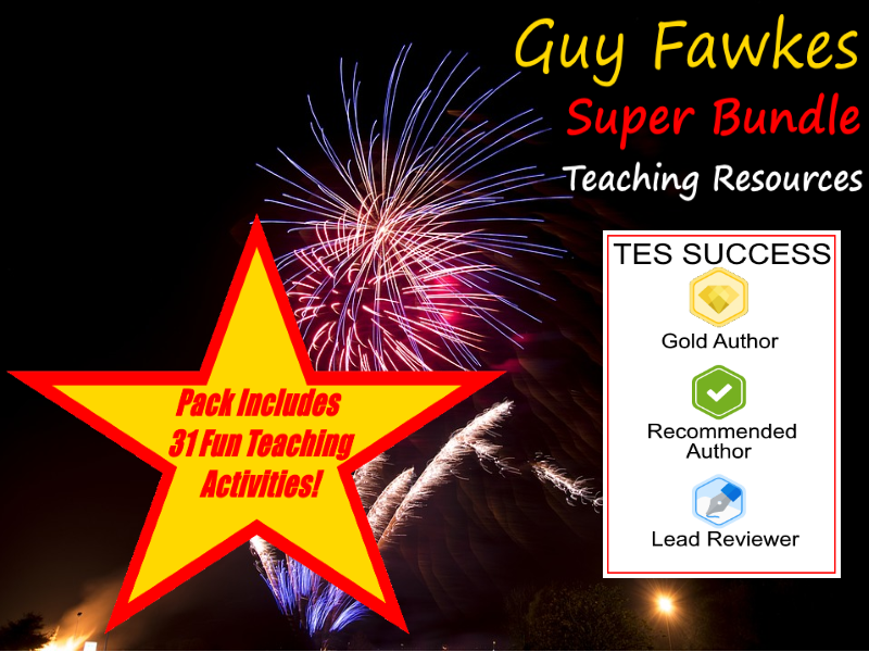 Guy Fawkes Bonfire Night Bundle