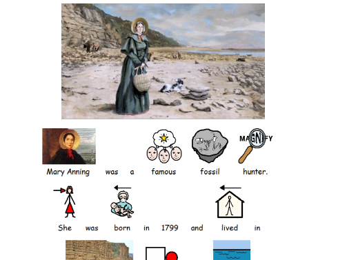 Mary Anning powerpoint SEN