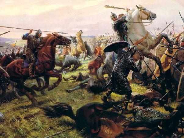 Harold Godwinson versus William, Duke of Normandy - The Battle of Hastings
