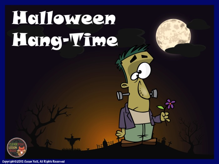 Halloween Words PPT Game