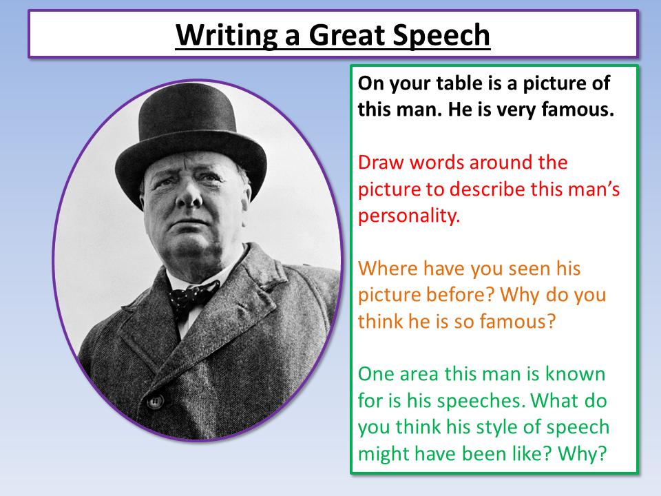 Eduqas English Speech Writing