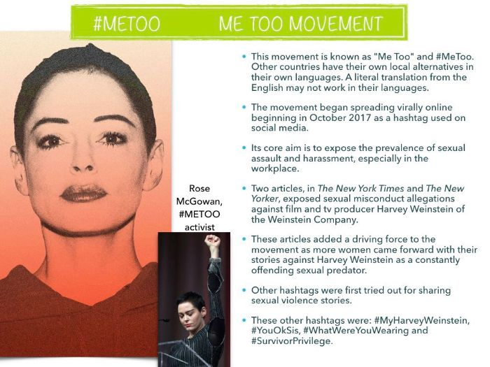 MeToo Movement - Law - Sex Abuse - #MeToo - Me Too