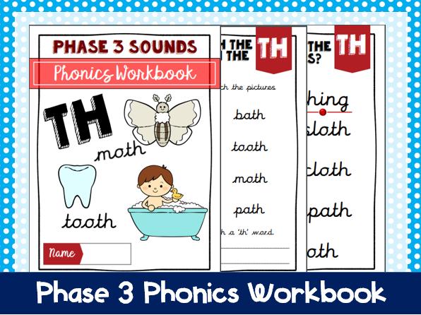 'Th' Phonics Workbook