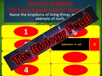 Biology Family Feud Review Game Part 1