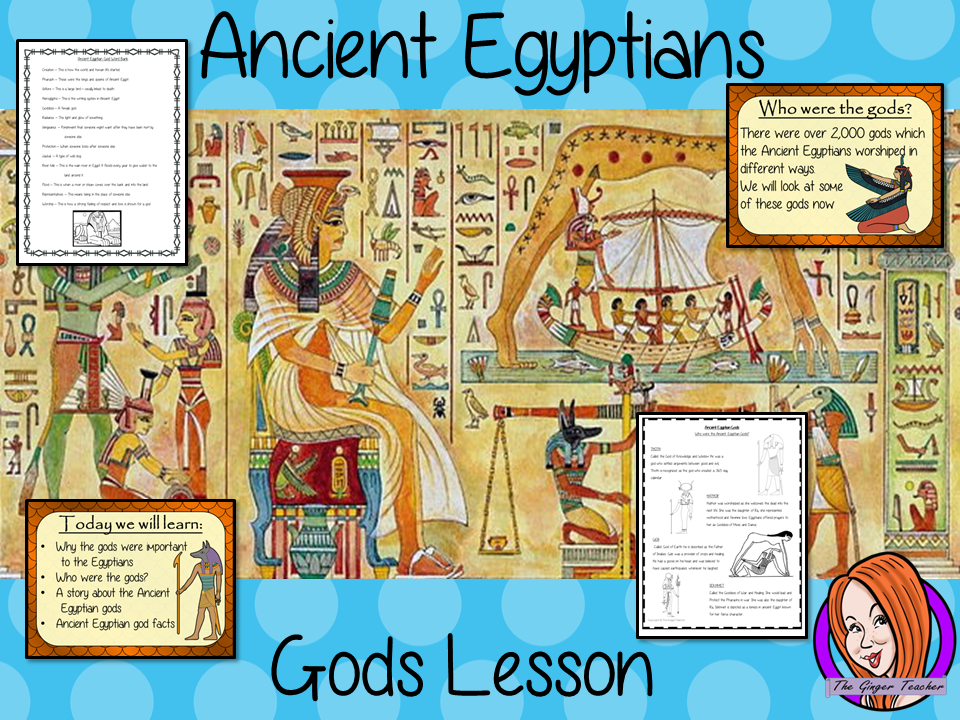 Ancient Egyptian Gods  - Complete History Lesson