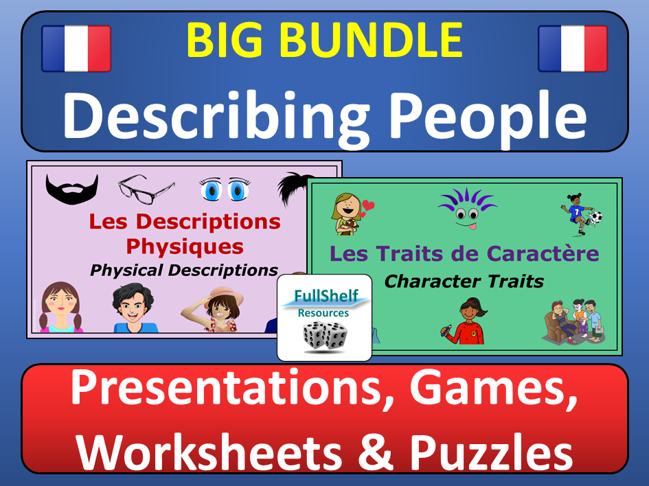 French Physical and Character Descriptions