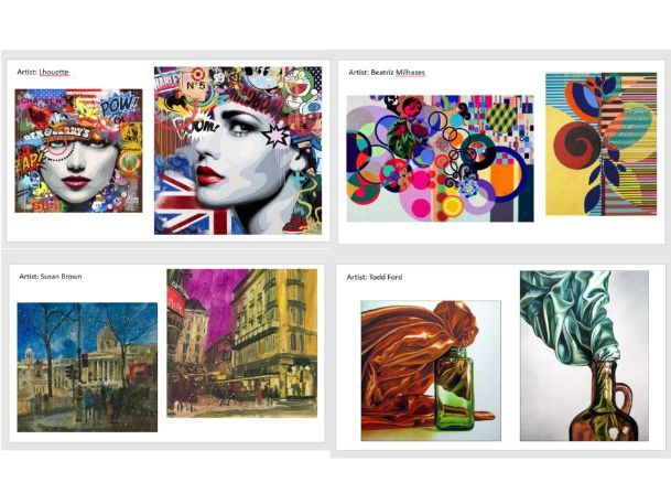 Resource - examples of over 200 artist's and designer's works