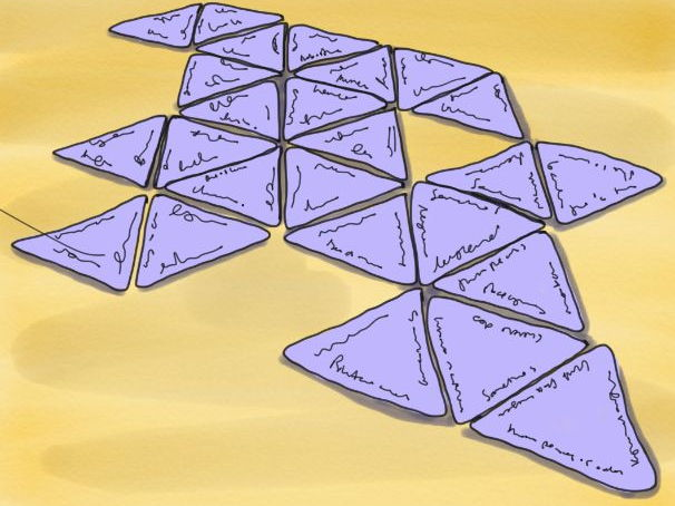 Transport of carbon dioxide and oxygen tarsia jigsaw puzzle