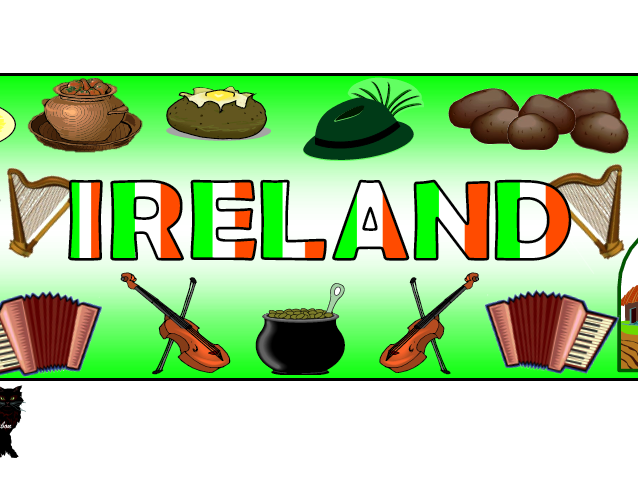 Flag of Ireland / St. Patrick's Day Themed Pack