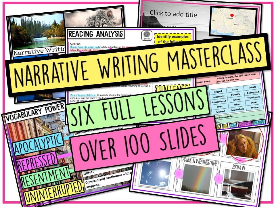 Narrative Writing Revision