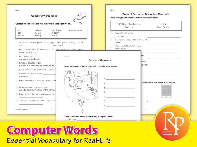 Computer Words: Essential Vocabulary