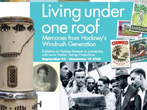 Caribbean Elders  in Hackney  from  1950s