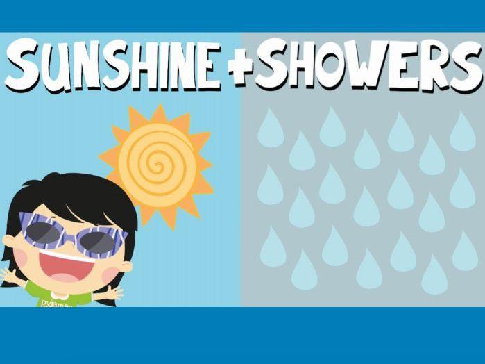 Music video for preschool children - 'Sunshine and Showers'