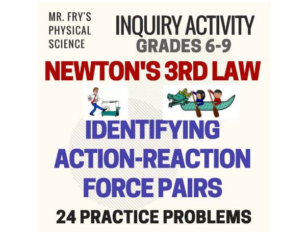 Identifying Action-Reaction Force Pairs  (MS-PS2-1)