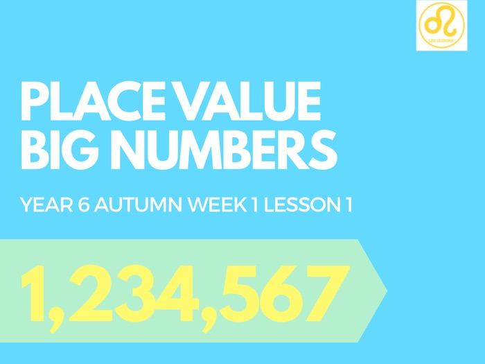 Place Value Big Numbers